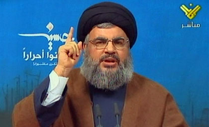 Sayyed Nasrallah: Egypt accomplice in the killing of Palestinians Unless Opens Rafah