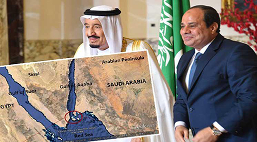 """Red Sea Islands: Saudi-Egyptian Approval to """"Israeli"""" Conditions, Bin Salman Committed to Camp David Terms"""