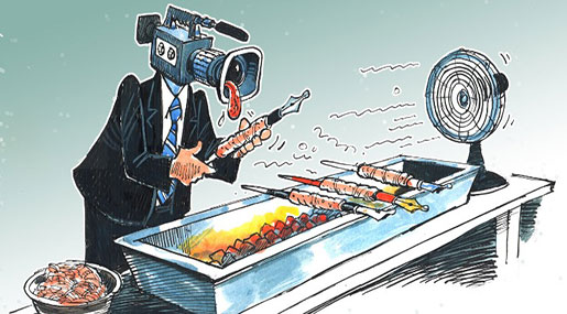 The Fire Consumes Those behind the Media War...