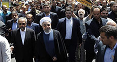 Rouhani: Terrorists Supported by Zionists, Larijani: They Aim to Destroy Islam