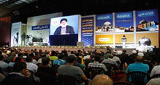 Sayyed Nasrallah: If Syria Falls, Palestine Will Do... Aggression on Yemen Serves 'Israel'