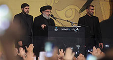 Sayyed Nasrallah Vows from Sayyed Shuhadaa Complex: We're to Defeat, 'Israel'.. US- Takfiri Scheme