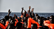 Italy Leads Rescue of 6,000+ Migrants off Libyan Coast