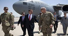 US War Chief Makes Surprise Visit to Iraq