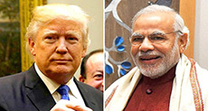 Trump, Modi Discuss US-Indian Economy, Security Partnership