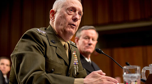 Mattis in Afghanistan to Shape US Strategy