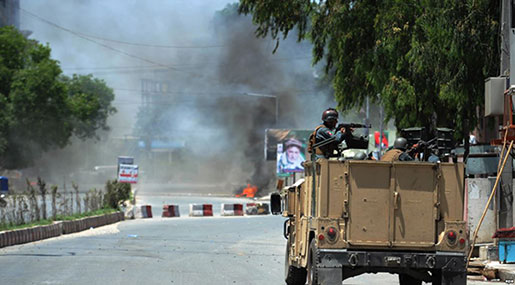 Militants Attack TV, Radio Building in Afghanistan