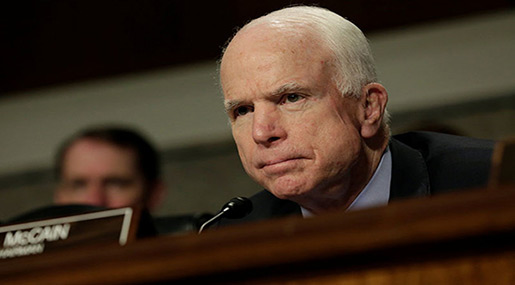 McCain: Putin Bigger Threat than Daesh