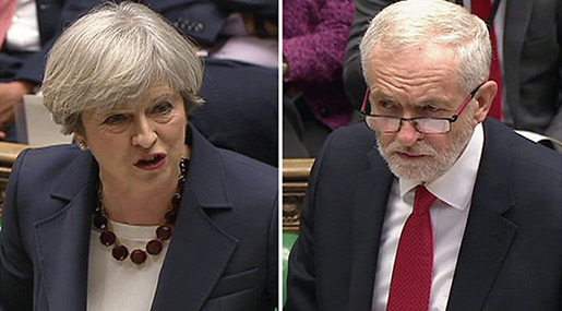 UK Election: May, Corbyn Clash over Brexit
