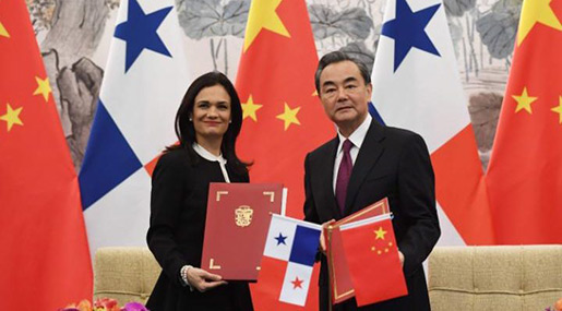 Panama Breaks Diplomatic Ties with Taiwan in Favor of China