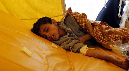 Yemen Cholera Outbreak: Death Toll Hits 1,146, WHO Says