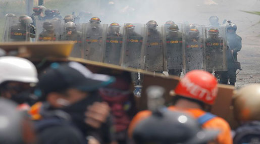 Venezuela Poised For New Violence as Security Forces Fatally Shoot Protester