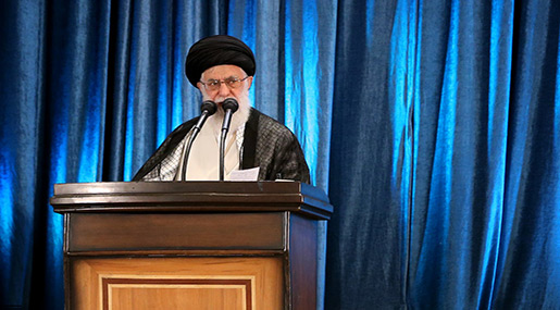 Imam Khamenei: Powerful Offensive of IRGC Was a Great Job