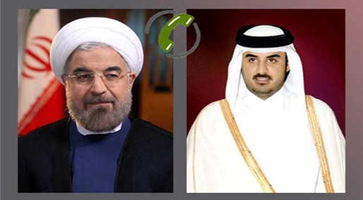 Rouhani: Iran-Qatar Ties Benefit Regional Nations
