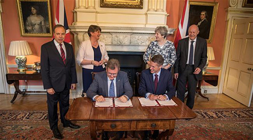 Theresa May's £1bn DUP Deal Met with Outrage