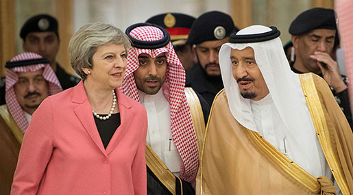 May Still Refuses To Publish Report on Saudi Funding UK Extremists