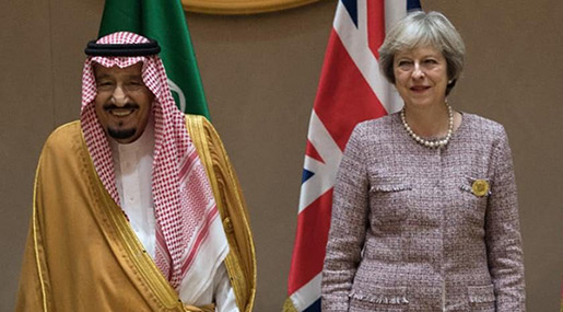 G20: May To Urge Cutting off Terrorism Funds despite Cozy Relations with Saudi