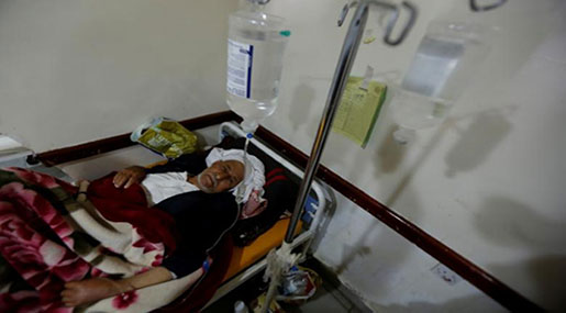 Yemen Cholera Outbreak: Cases Pass 300K Mark - ICRC