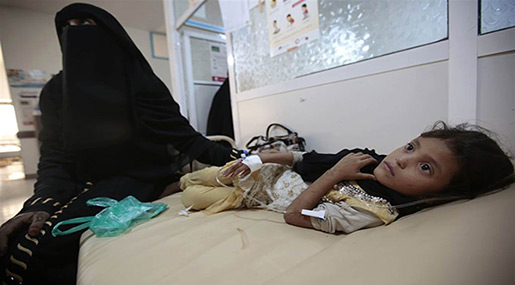 A Picture Is Worth a Thousand Words: Yemen Suffers Worst Cholera Outbreak