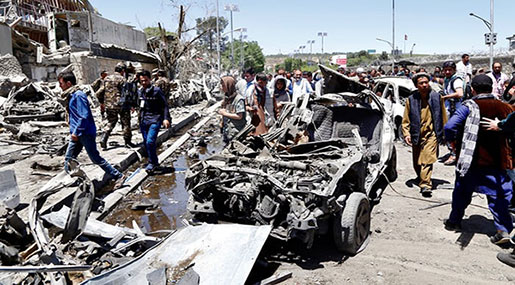 Kabul Terrorist Attack: At Least 24 Martyred, 40 Injured