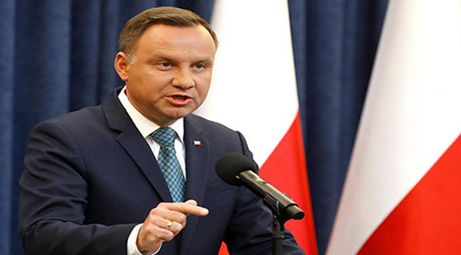 Polish President to Veto Bills under Which the Ruling Party Controls the Supreme Court