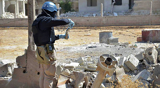 US Admits Nusra Front Terrorists Use Chemical Weapons in Syria