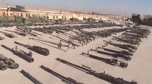 NATO Arms from US Found in Daesh Depot in Al-Mayadin