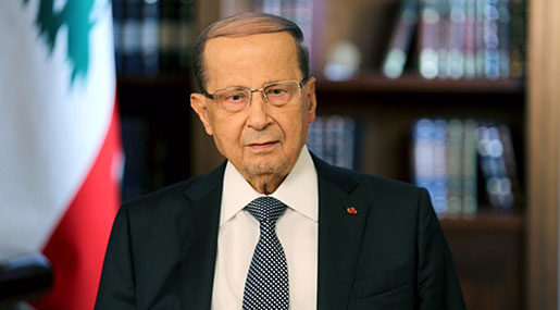 Lebanese Political Crisis over, President Says from Italy
