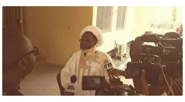 IMN Demands Release of Leader as Footage of Sheikh Zakzaky Surfaced