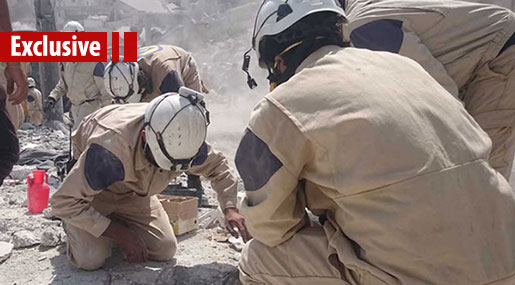 Eastern Ghouta: Are the 'White Helmets' Preparing for a New Theatrical Performance?