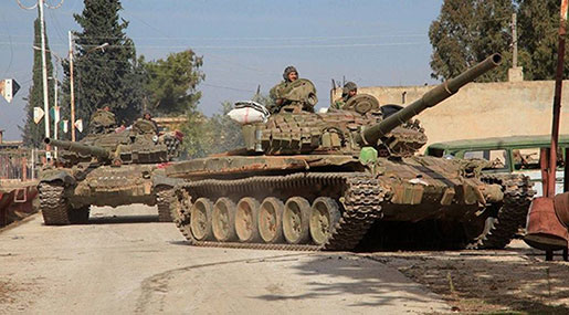 The Syrian Army in Central Ghouta: Isolating the Factions & Cutting the Area in Half