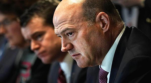 Gary Cohn Resigns as Trump's Top Economic Advisor