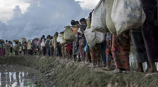 Myanmar Crackdown: Regime Builds Military Bases on Rohingya Land
