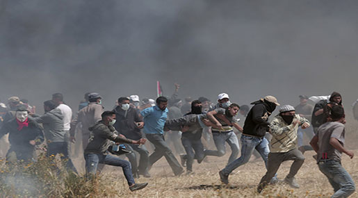 Gaza's Great Return March: 9 Martyred, Including Journalist, 1000 Injured