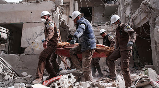 Syrian Army Discovers White Helmets' Filming Site in Eastern Ghouta