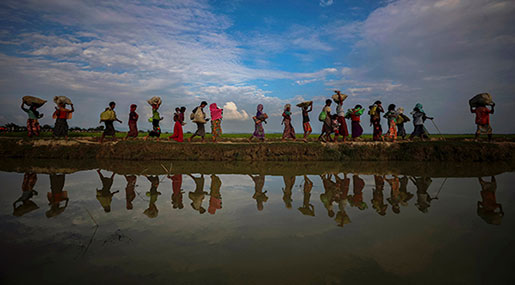 Start of Rainy Season Exposes Risks for Rohingya Refugees in Bangladesh