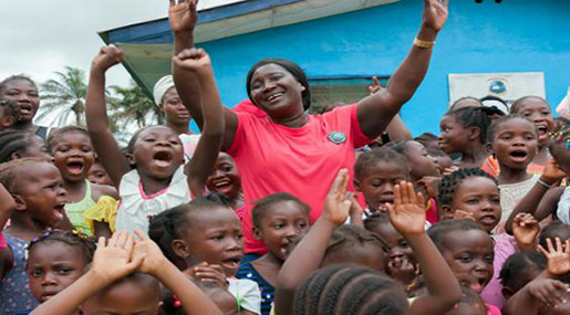 Midwife Who Worked through Liberia's Civil War, Ebola Crisis Has 1,000 Children Named after Her