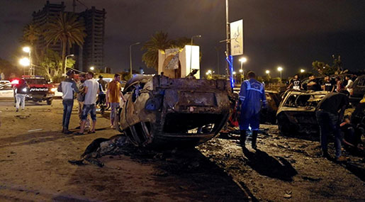 Deadly Car Bomb Explosion Rocks Libya's Benghazi