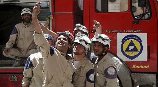 White Helmets Are Helping Syrian Militants Prepare «False Flag» Chemical Attack