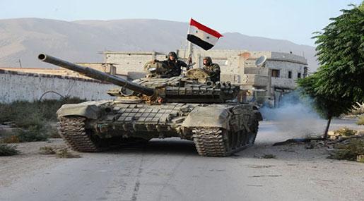 アレッポ勝利の後、シリアはホムスプッシュを強化します