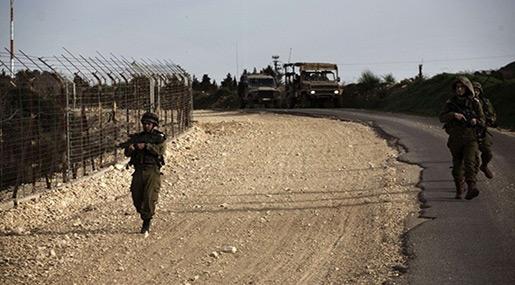 """Israeli""-Lebanese border"