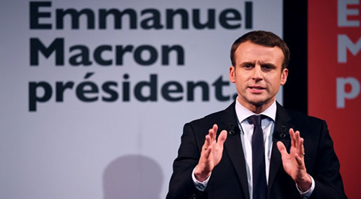 French Presidential Elections: Macron Leading in Polls Ahead of First Round