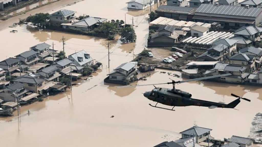 Japan Floods Kill 100+, Rescuers Race to Find Survivors