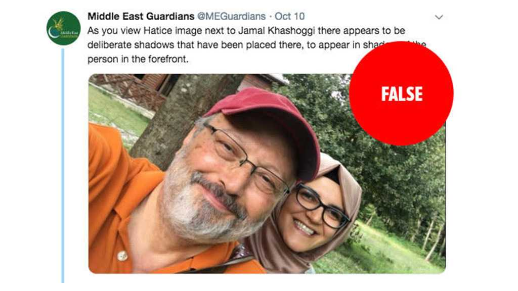 "Report: Saudi Media Promoting ""Fake Fiancé"" Conspiracy Theory about Khashoggi"