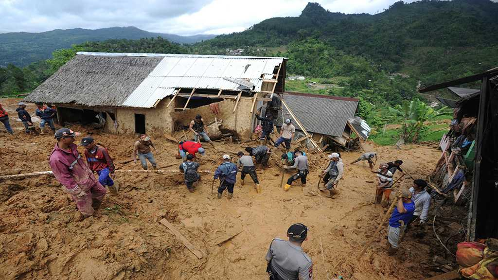 Indonesia Landslides Claim at Least 15 Lives