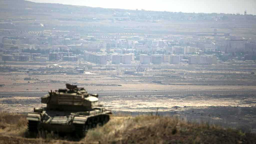 IOF Shells Quneitra District in Syria