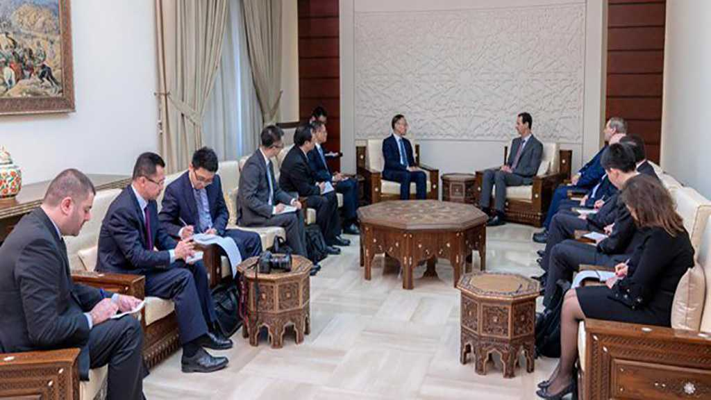 Assad Receives China's Assistant Foreign Minister, Affirms Need to Bolster Cooperation