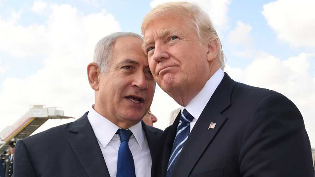 "After Al-Quds, Trump Hands Occupied Syrian Golan to ""Israel"""
