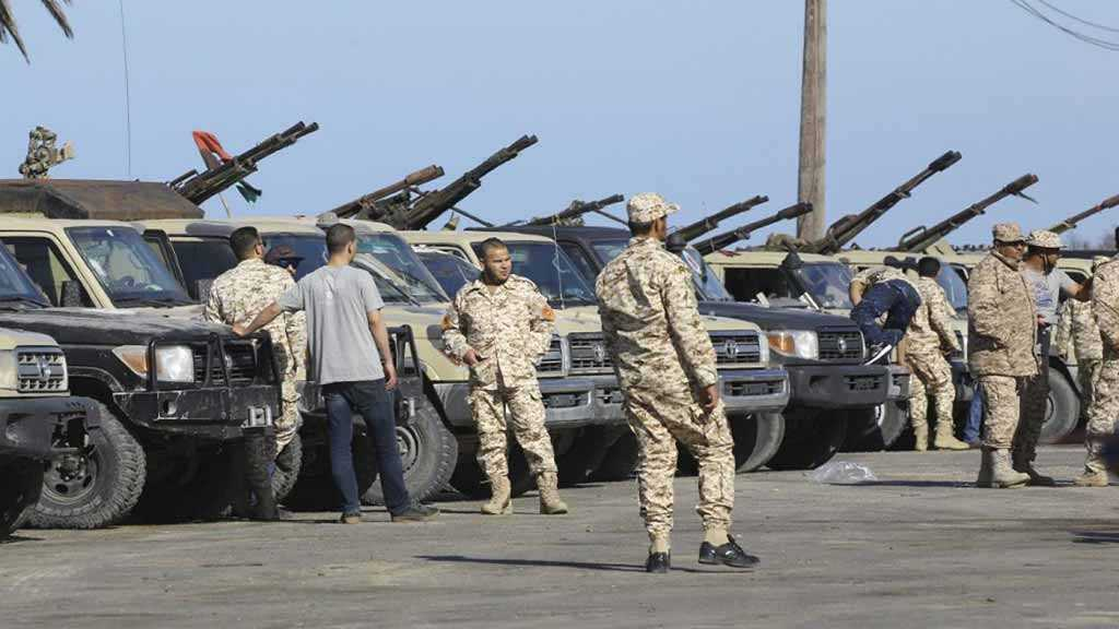Libya General Command: Army Advancing South, East of Tripoli