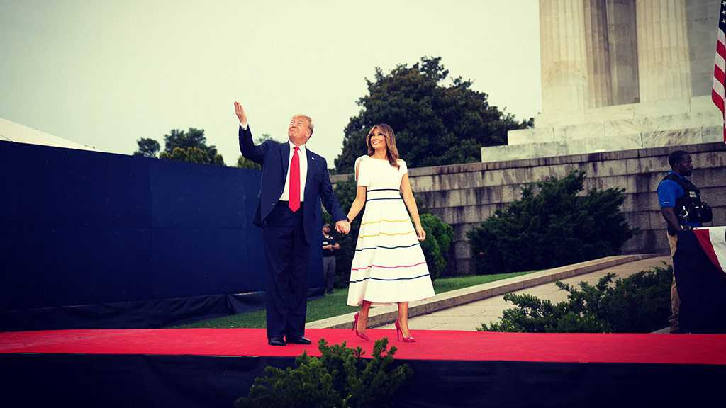 Melania Trump Mocked Online for Outfit at 4th of July Parade